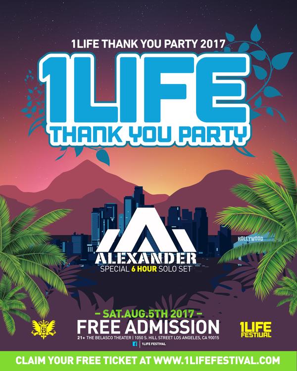 1LIFE flyer