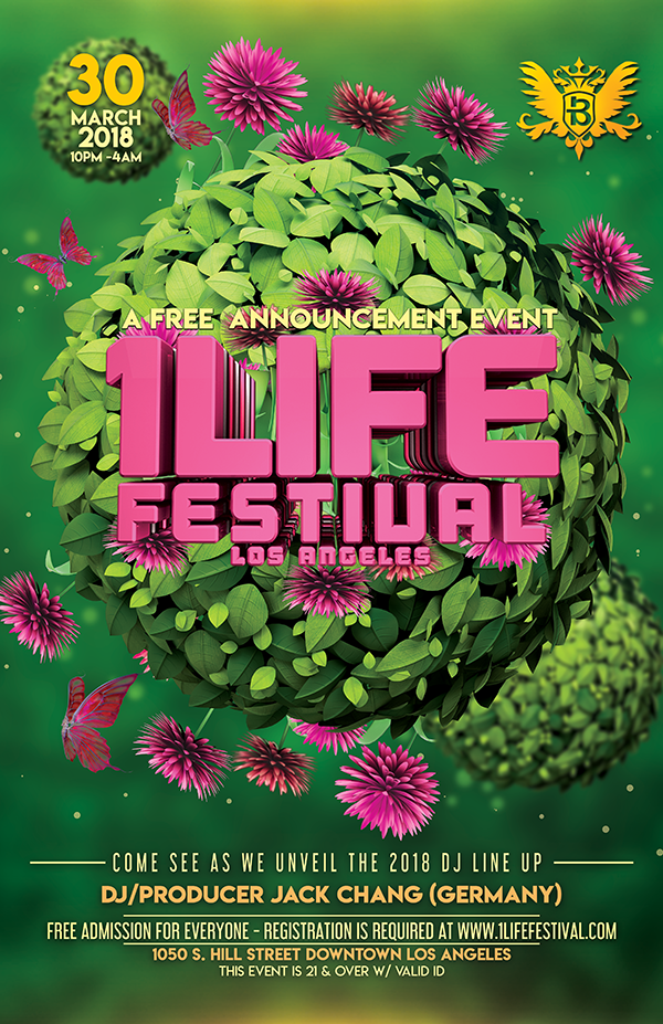 1LIFE Easter flyer