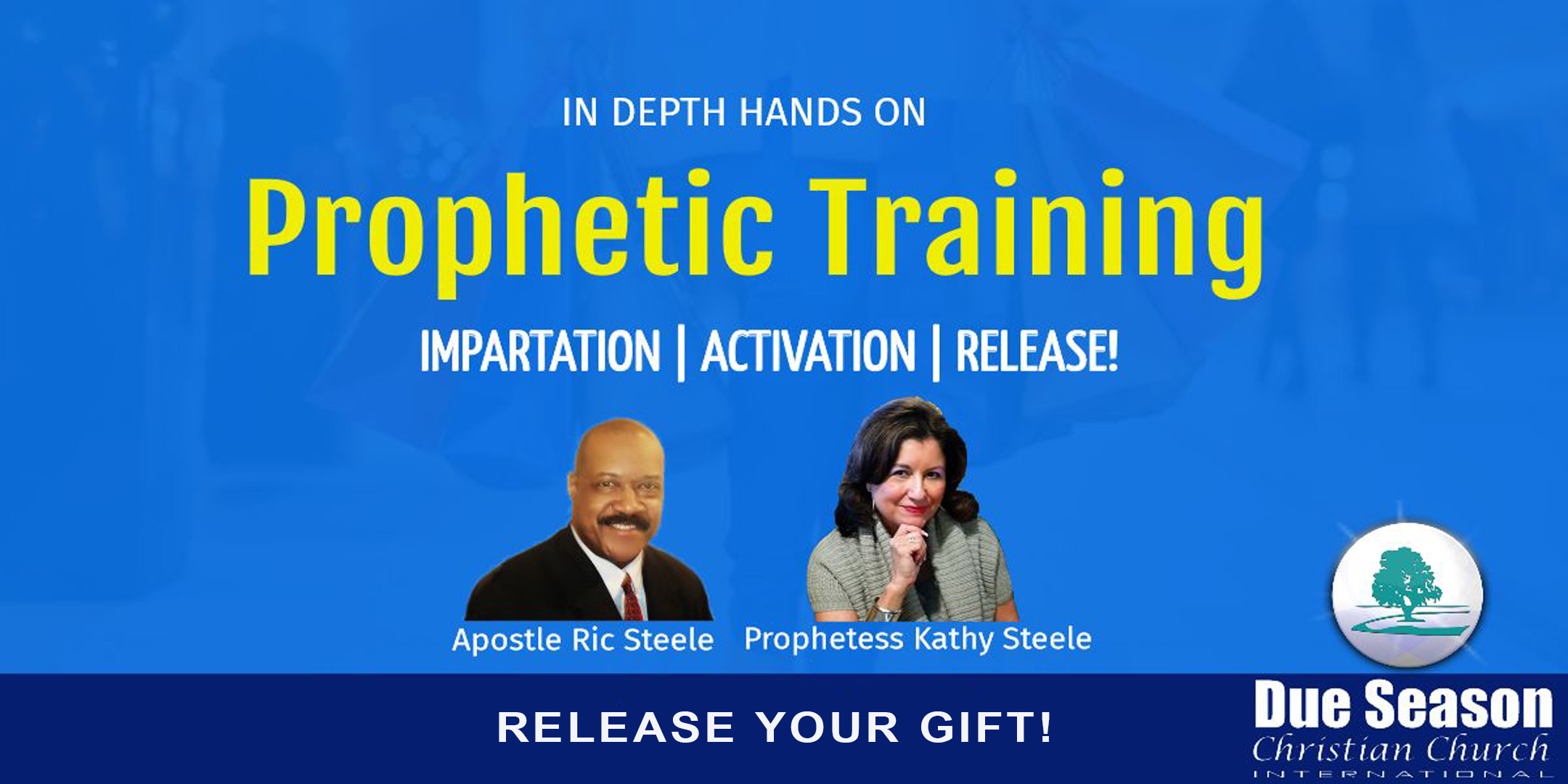 Prophetic Training Header