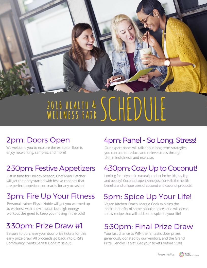 hw schedule