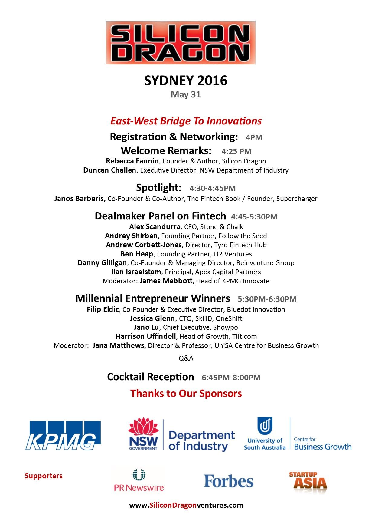 Silicon Dragon Sydney 2016