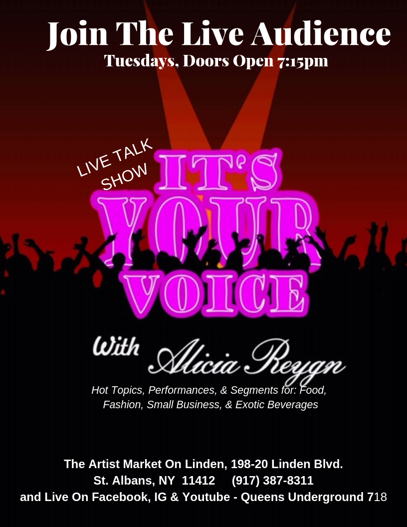 Its Your Voice with Alicia Reygn