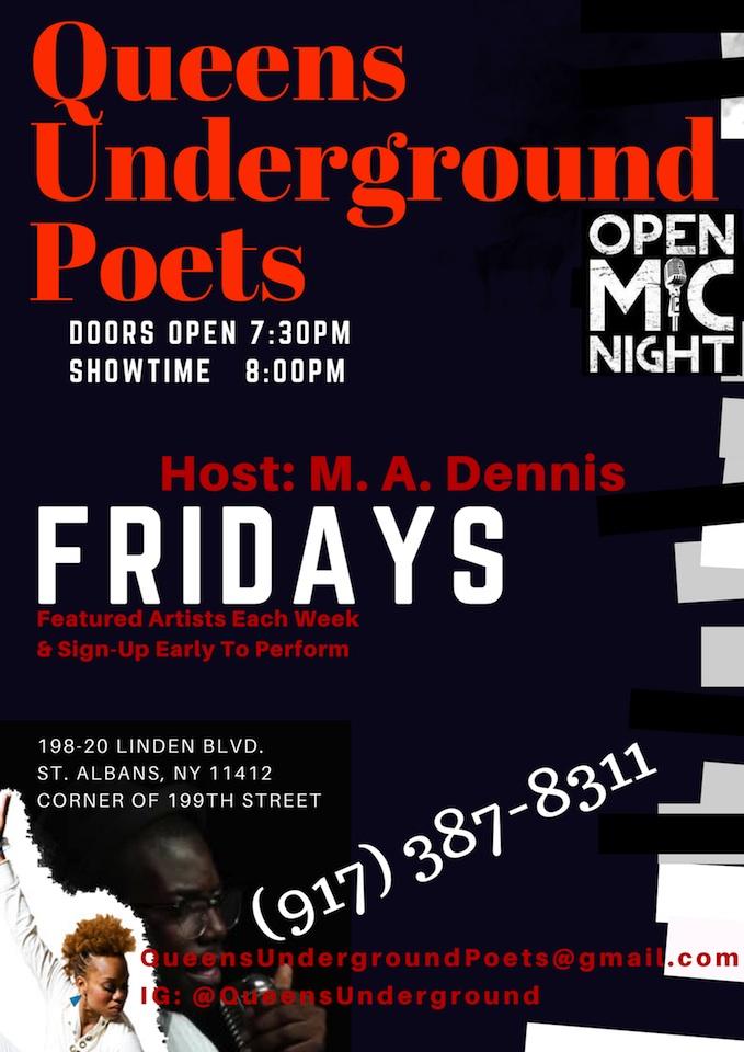 Queens Underground Flyer