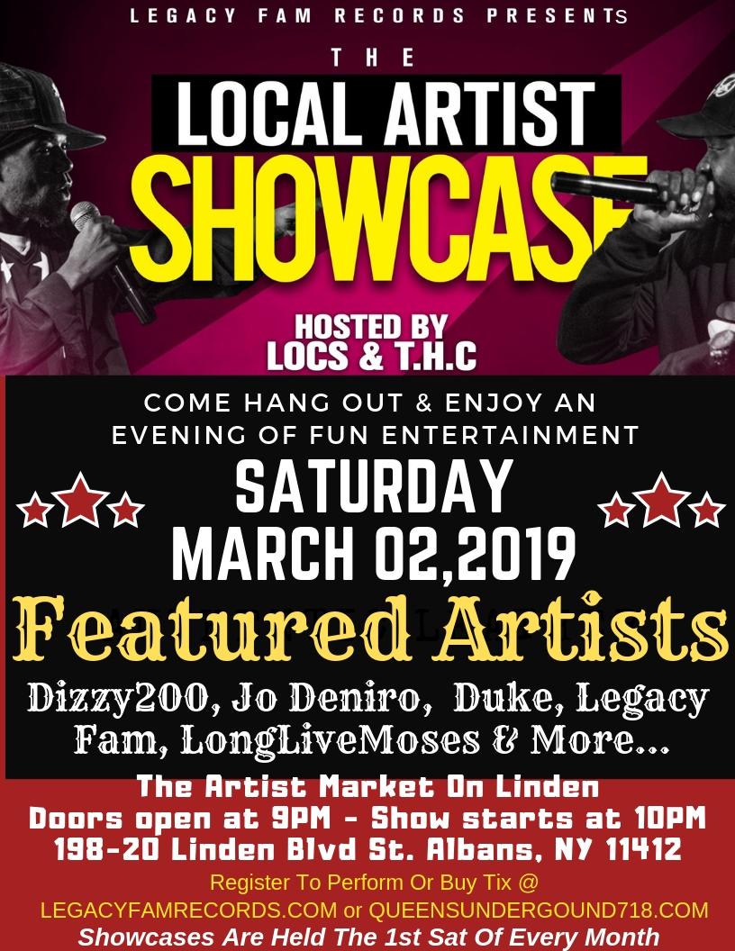 Artist Market on Linden   Legacy Fam Records