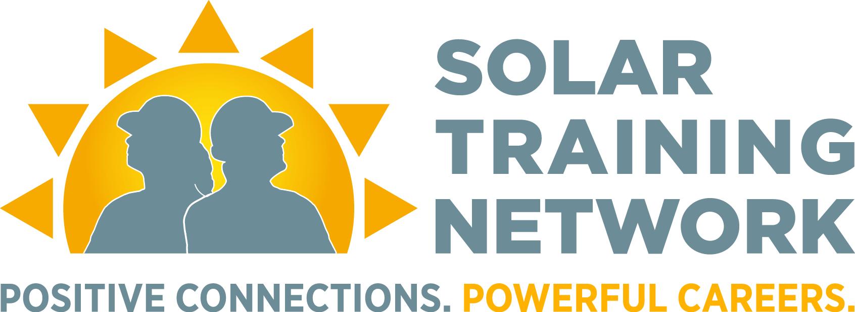 The Solar Training Network logo