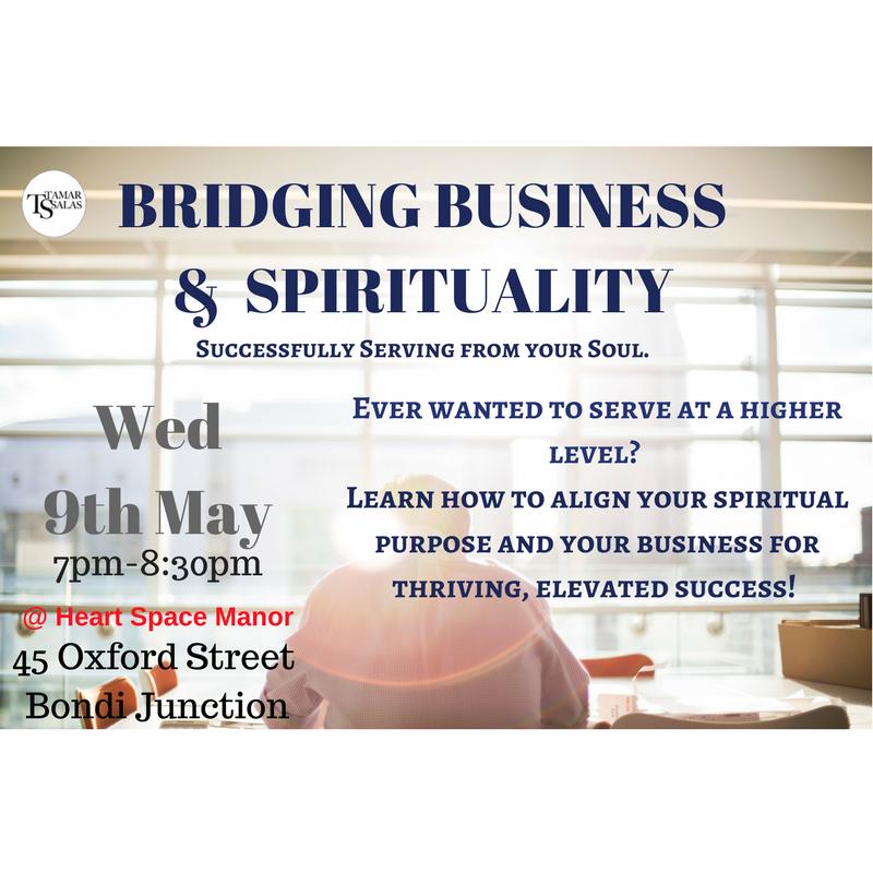 BRIDGING BUSINESS AND SPIRITUALITY