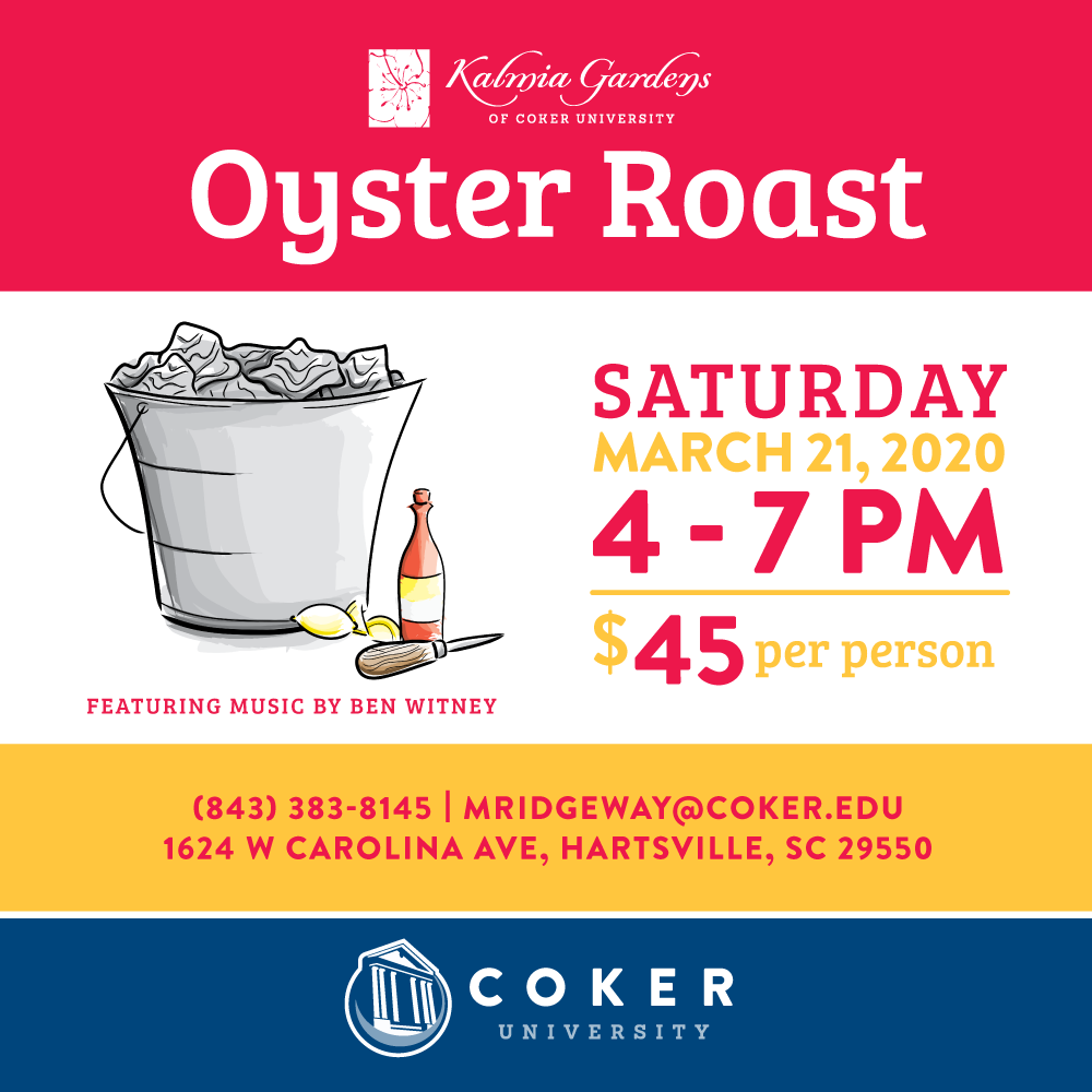 Oyster Roast 2020 flyer_March 12_4-7p.m._$45