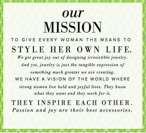 Stella dot learn about becoming a stylist tickets for A mission statement for a beauty salon