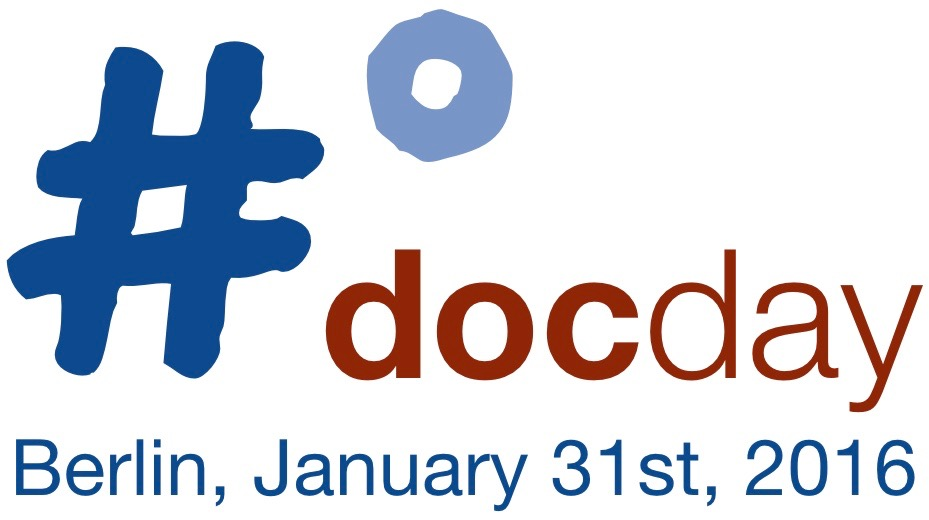 Logo #docday° Berlin 2016