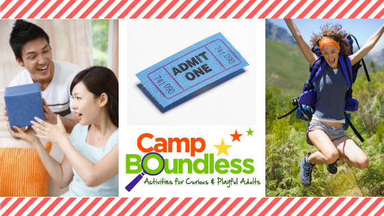 Camp Boundless Gift Ticket