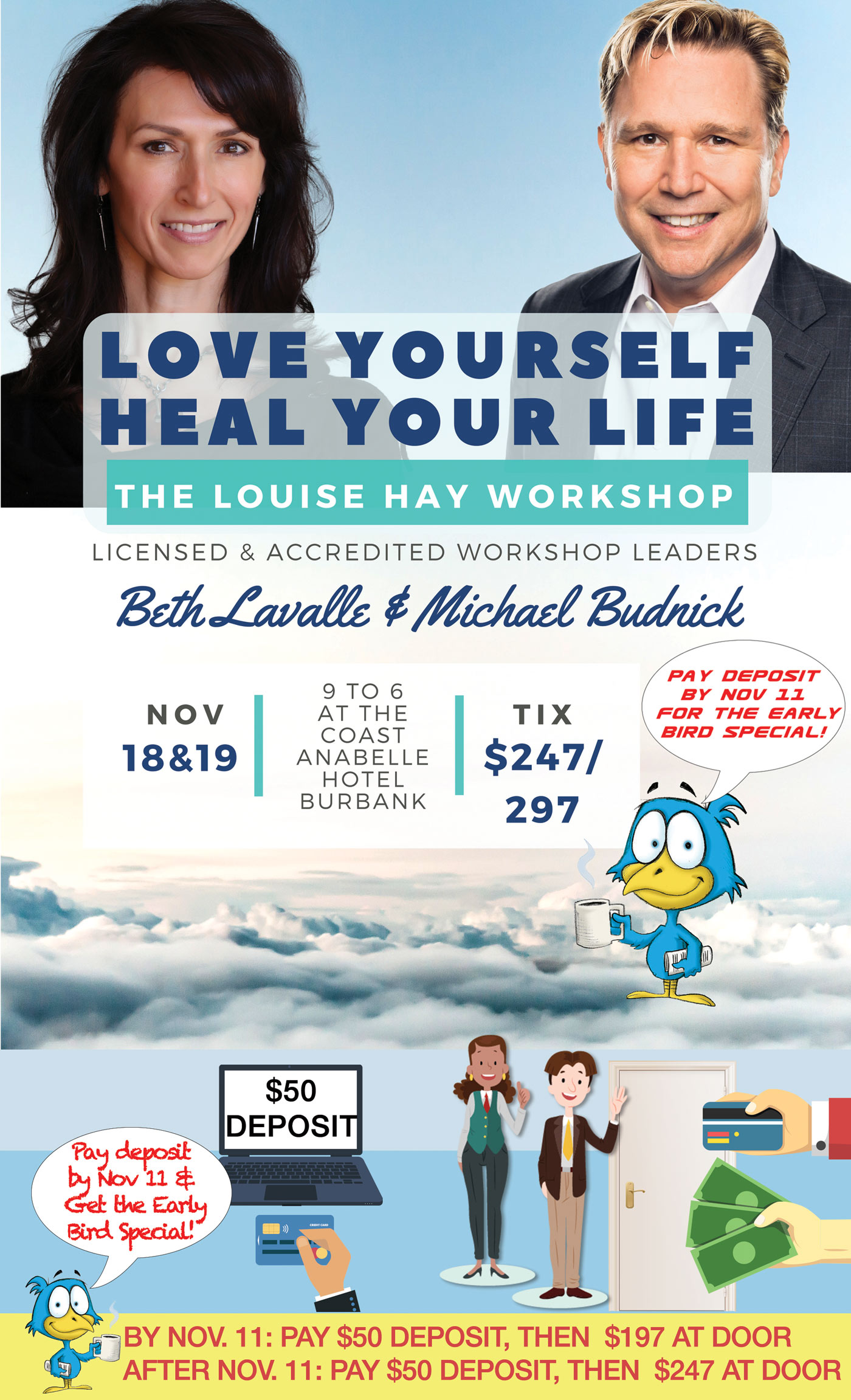 Heal Your Life Event Poster