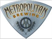 Metropolitan Brewing logo silver