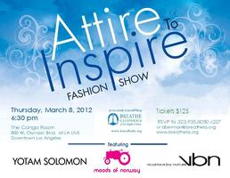 Attire to Inspire Charity Fashion Show