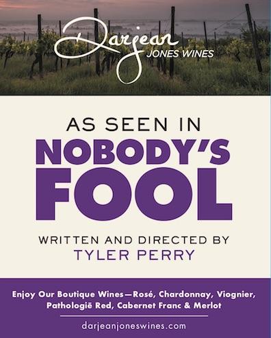 Darjean Jones Wines As Seen in Nobody's Fool
