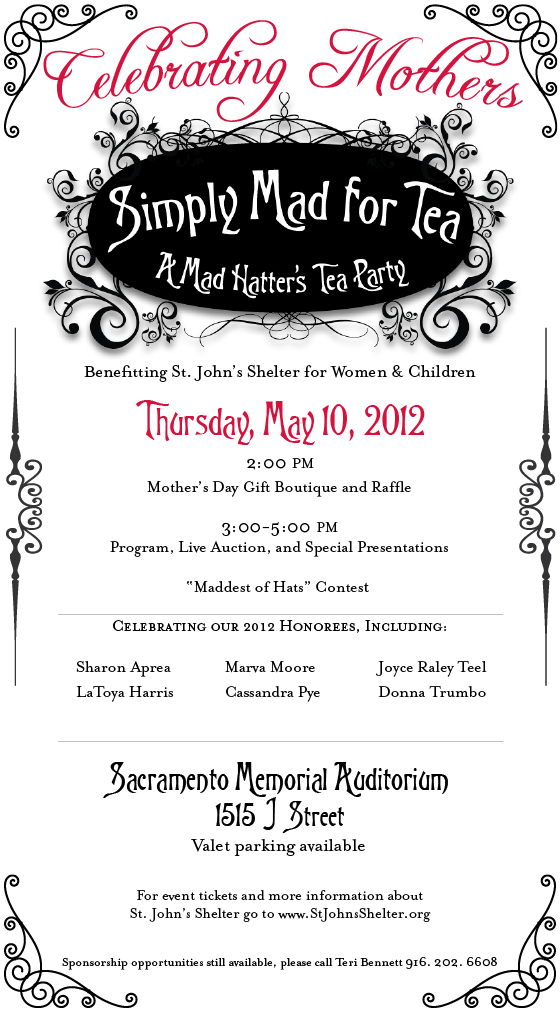 2012 Mad Hatter Tea Party Invite
