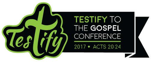 Testify to the Gospel Conference 2017 logo