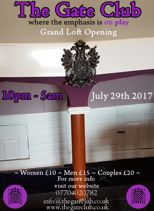 Grand Loft Opening flyer