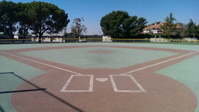 Orange Counties very own Rubberized Baseball field For Children With disabilities