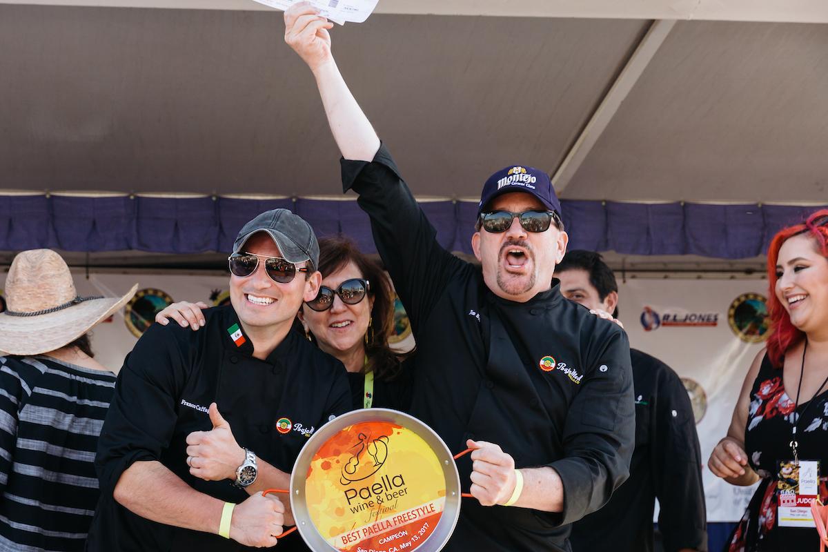 Paella Wine Fest Champions