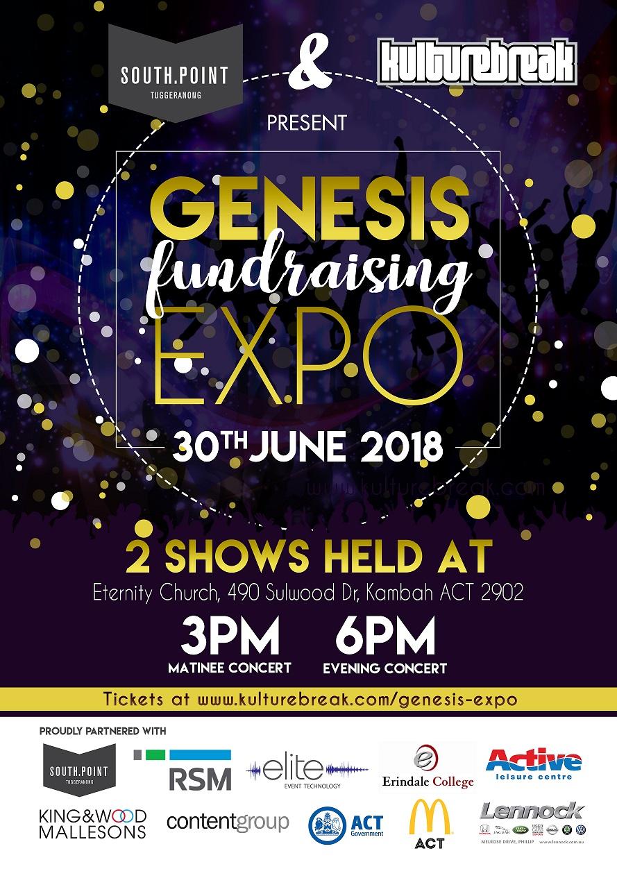 Genesis 2018 Expo poster