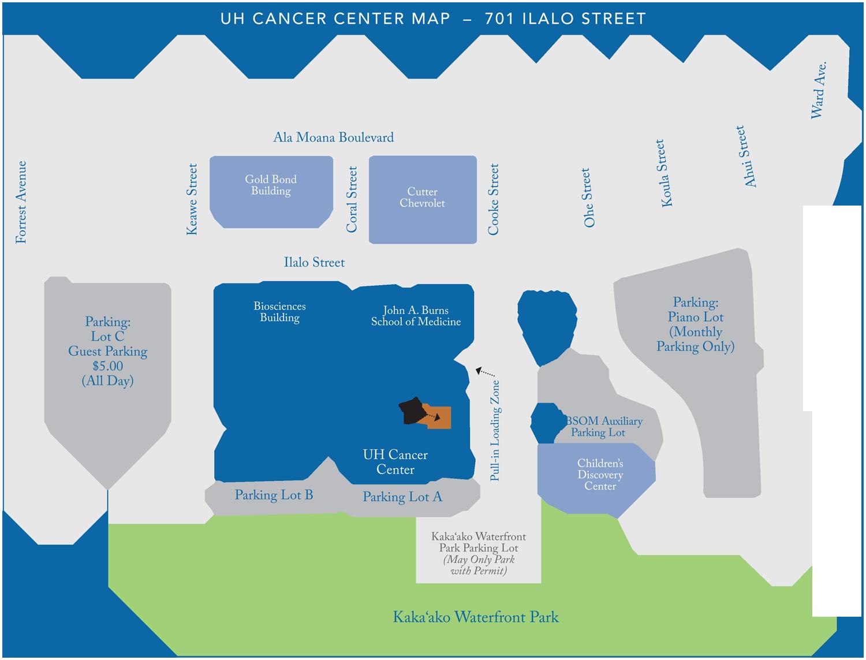 UHCC Campus Map