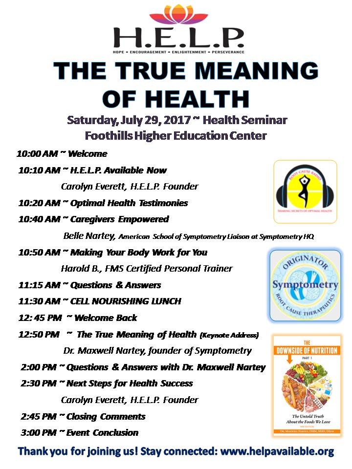 Caregivers Health Symposium
