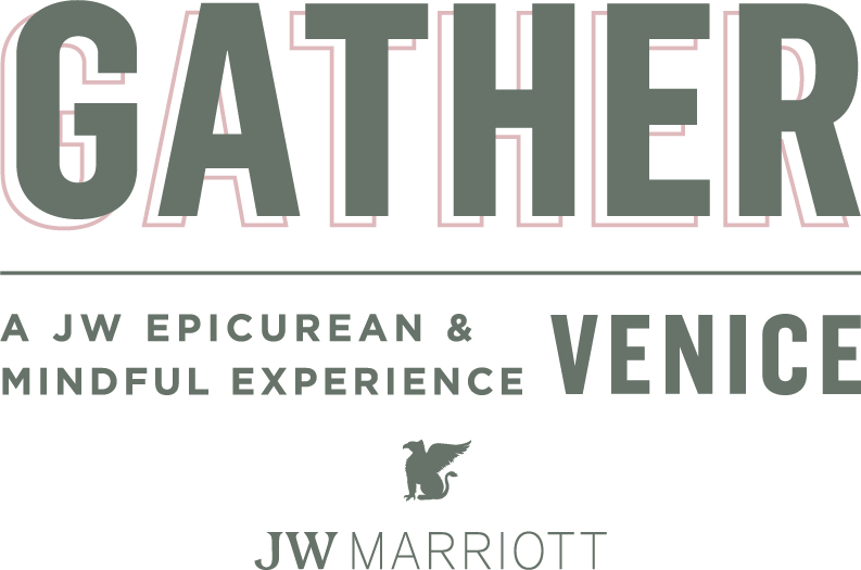 Gather Venice logo with JW