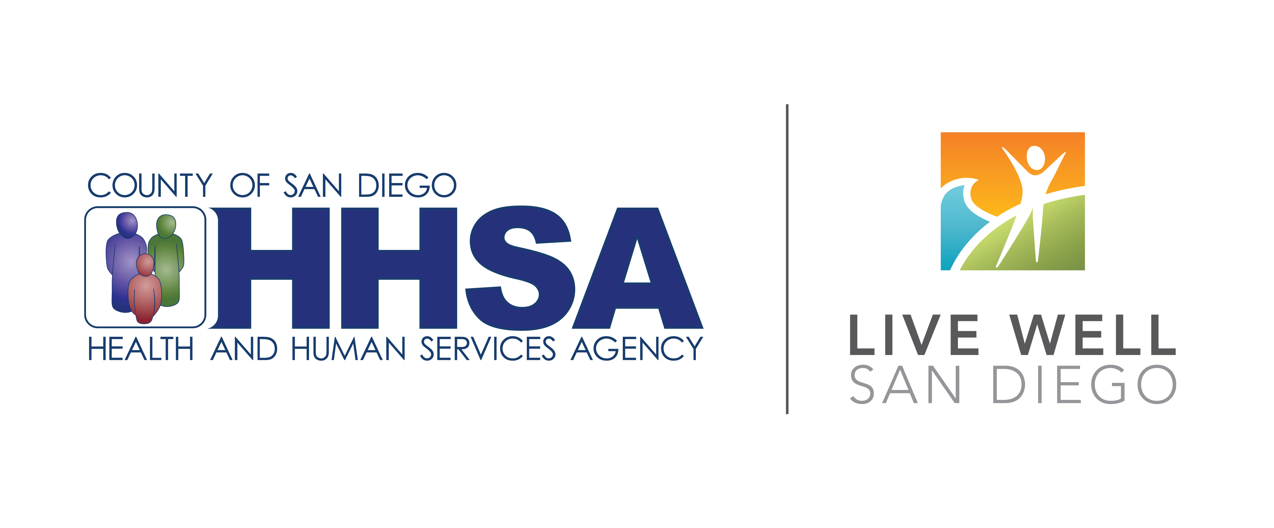 County of San Diego and Live Well San Diego Logo