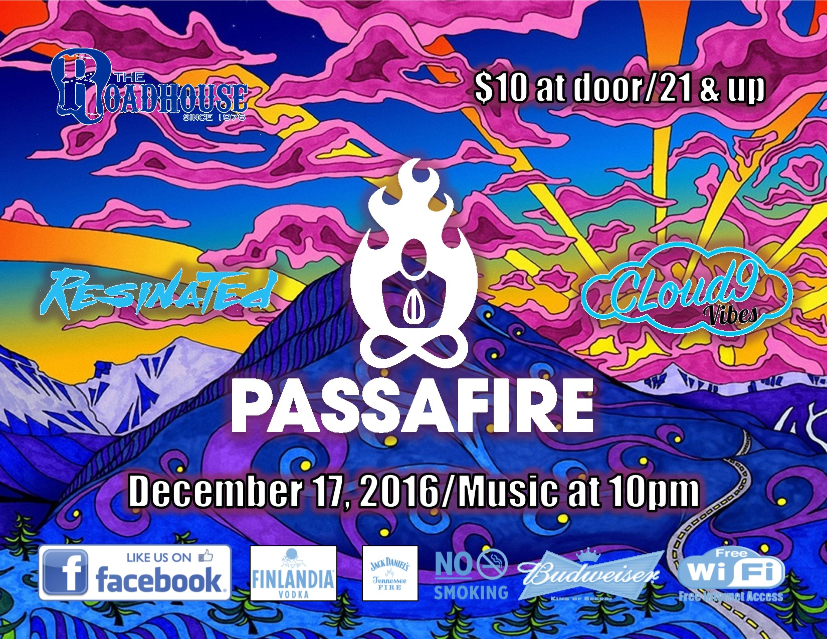 Passafire at The Roadhouse