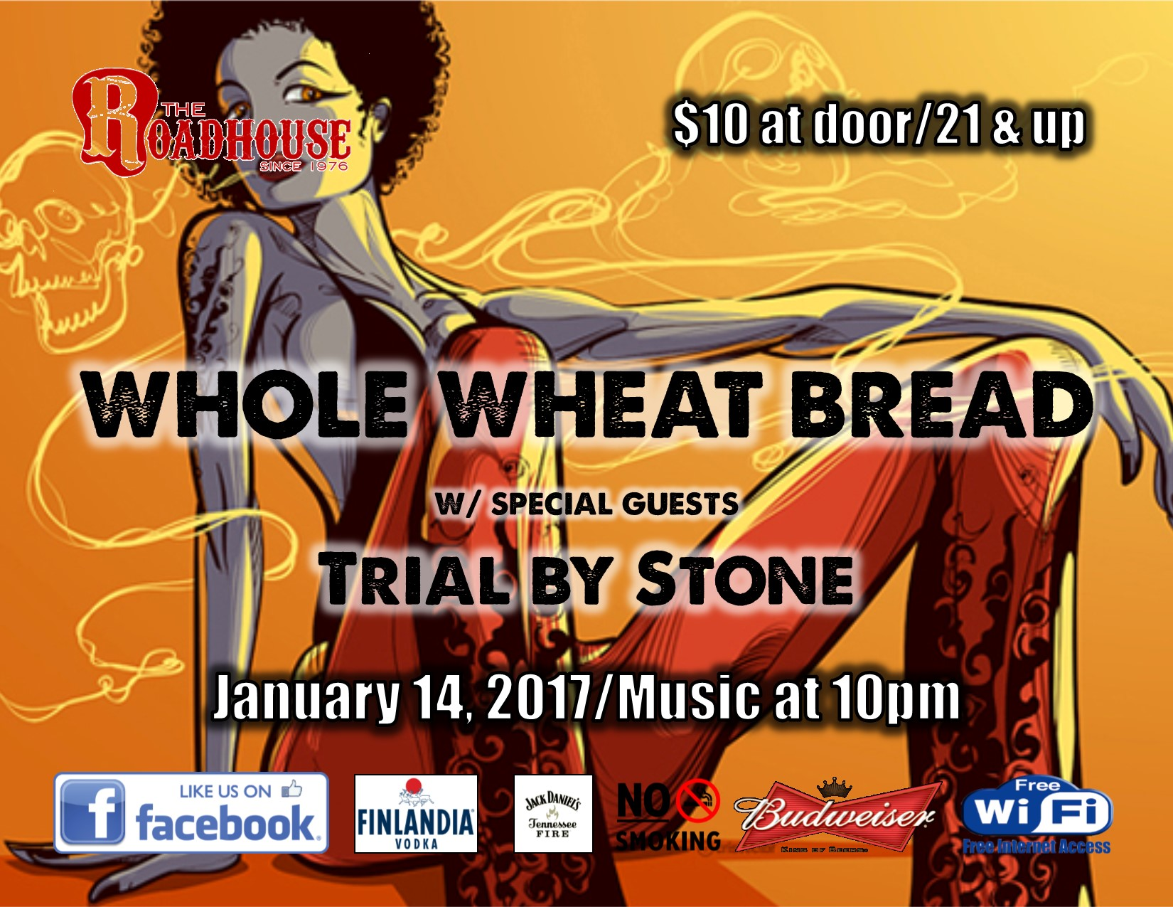 Whole Wheat Bread at The Roadhouse
