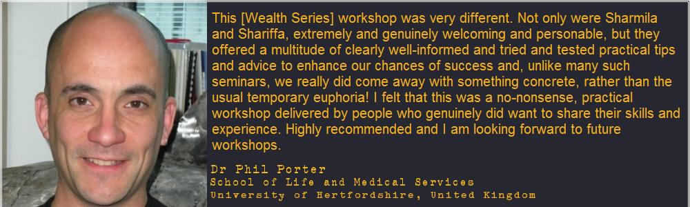 Testimonial - Dr Phil Porter