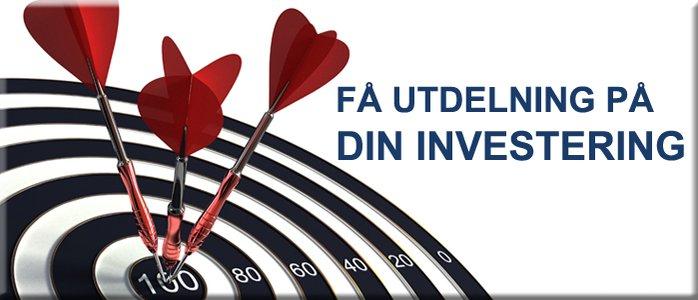 Få utdelning på din investering