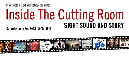 Inside The Cutting Room - Sight, Sound & Story