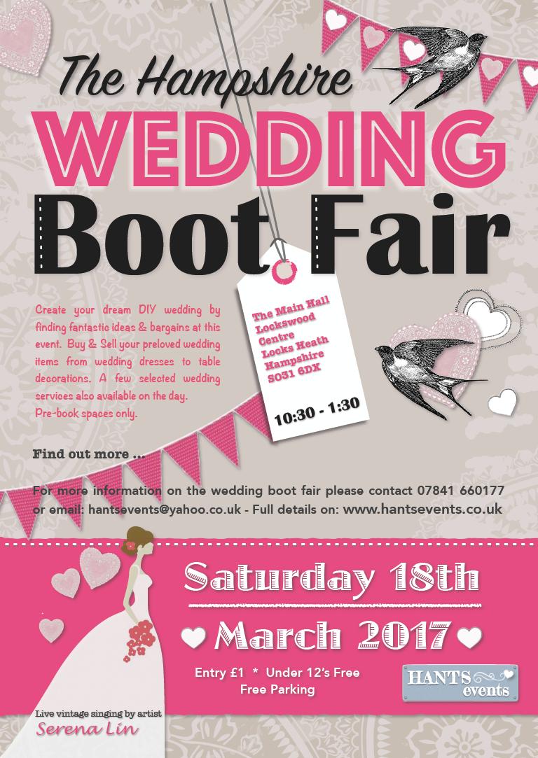 Wedding Boot Fair March 2017