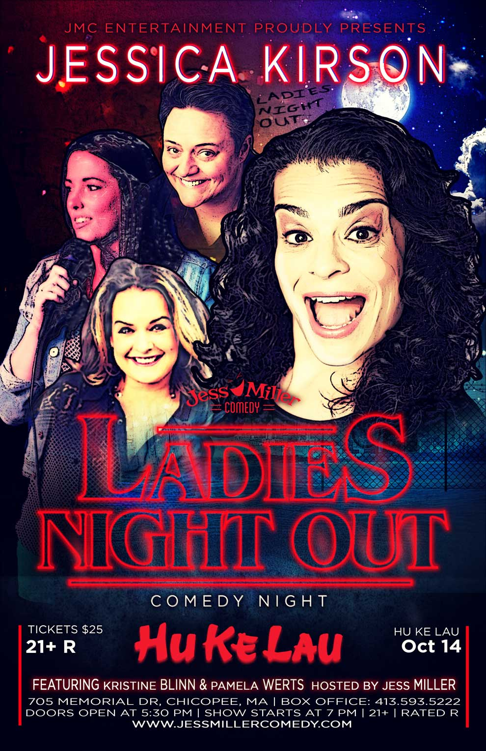 Ladies Night Out Comedy Show @ The Hukelau