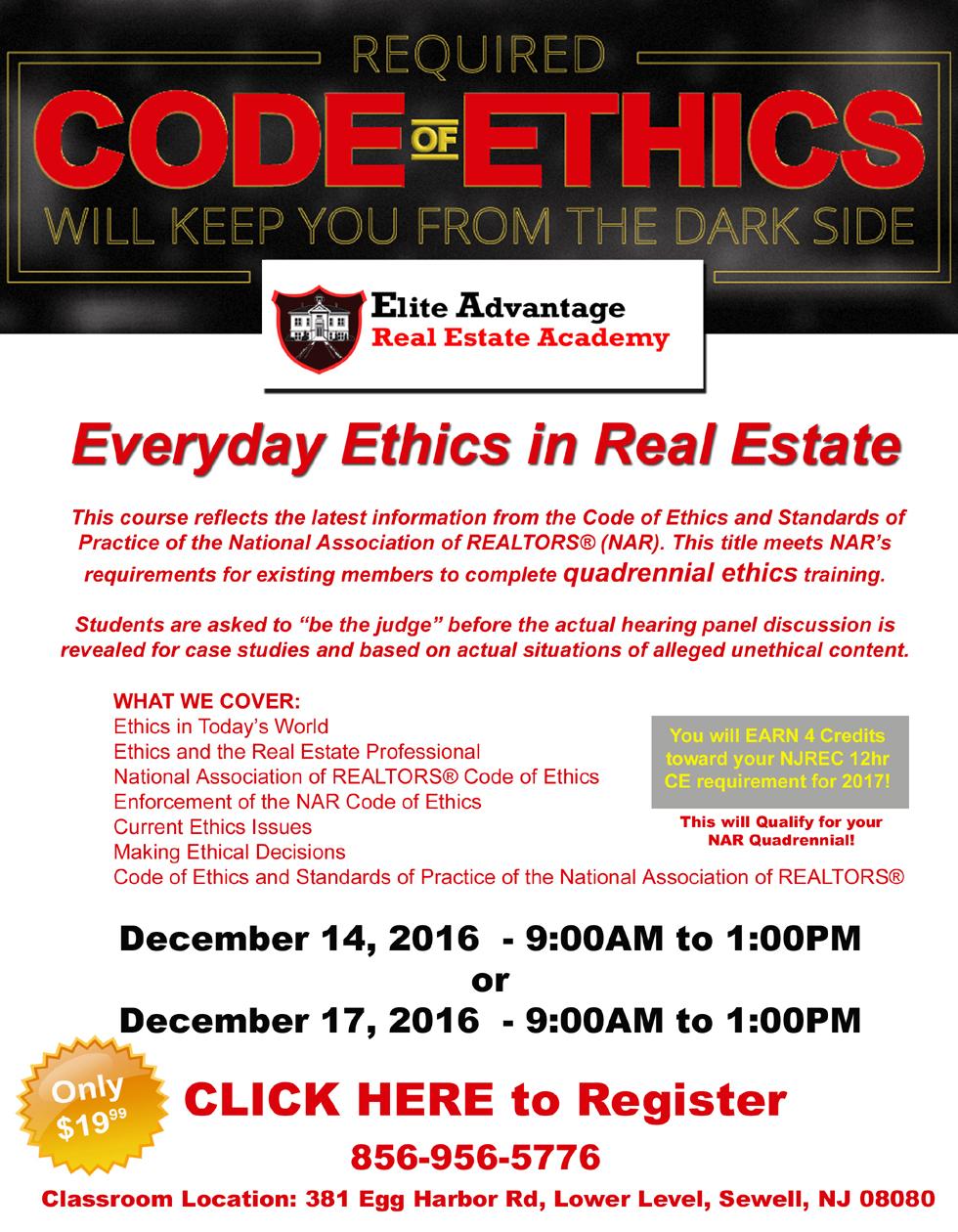 CE Everyday Ethics