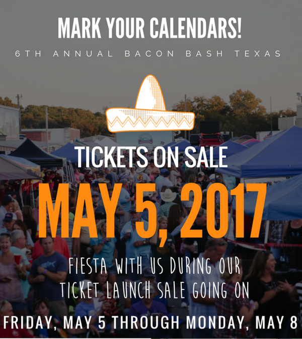 BBT 2017 tickets go on sale Friday, May 5!