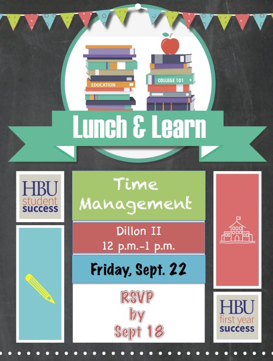 Lunch & Learn Flyer - Time Mgmt