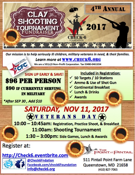 2017 Shooting Tournament Flyer