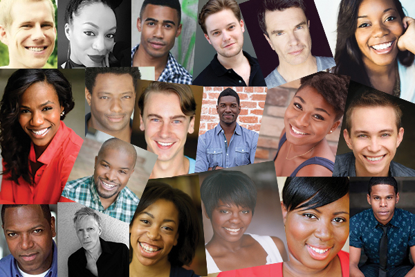 Once on This Island cast