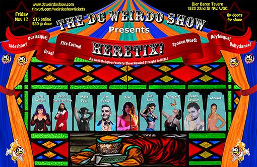 Heretix Cast Poster
