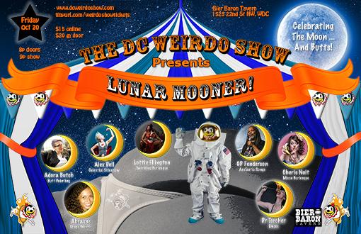 Lunar Mooner Cast Poster