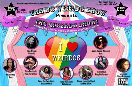Queerdo Show Cast Poster