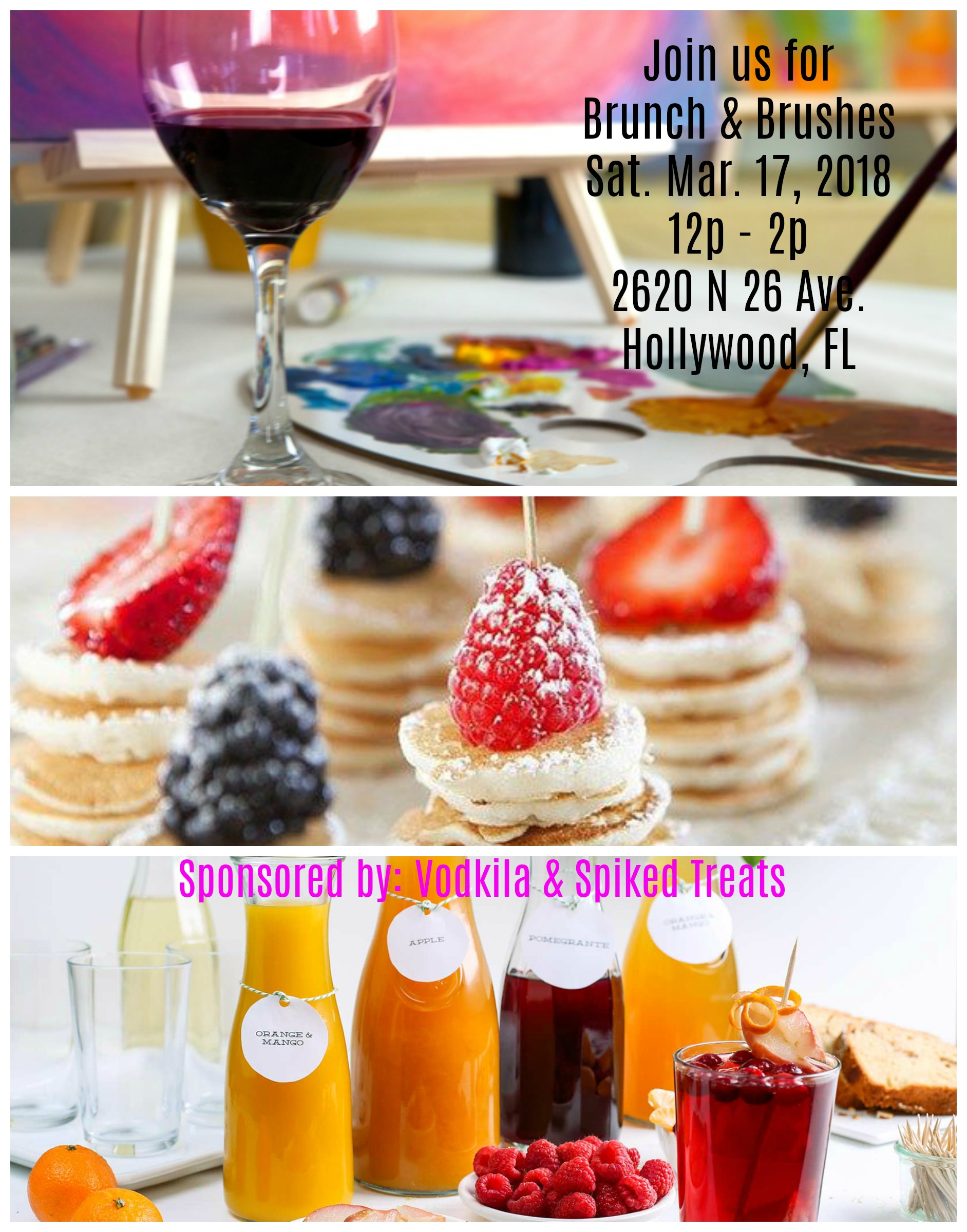 brunch brushes tickets sat mar 17 2018 at 12 00 pm