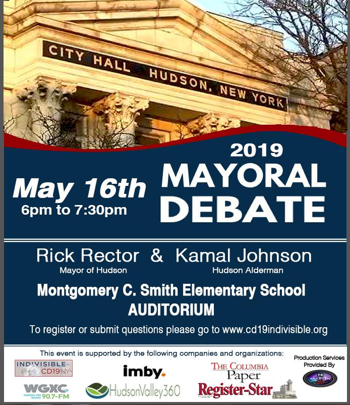 Hudson New York Democratic Primary Mayoral Debate Rick
