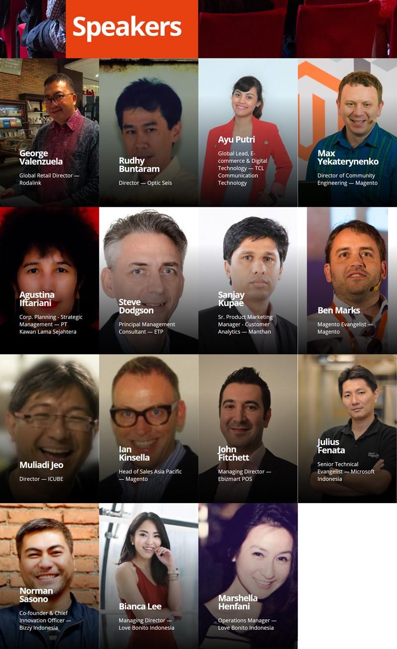 Meet Magento 2017 Indonesia Speakers