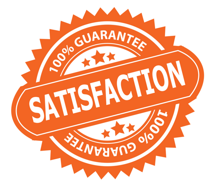 100%Satisfaction Gurantee