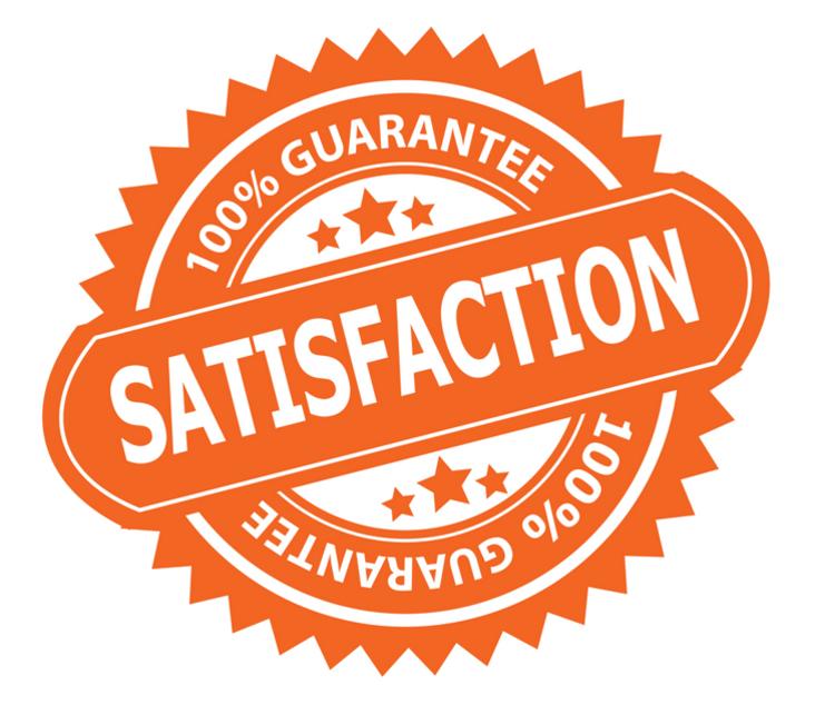 100%Satisfaction Gurantee