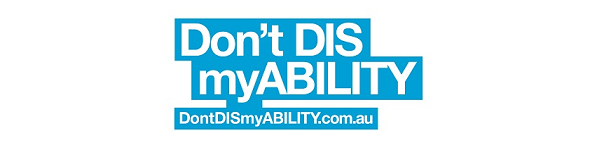 Don't DIS my ABILITY logo