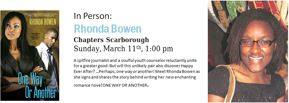 Chapters Author Event with Rhonda Bowen